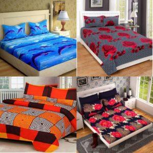 Double Bedsheet Combo