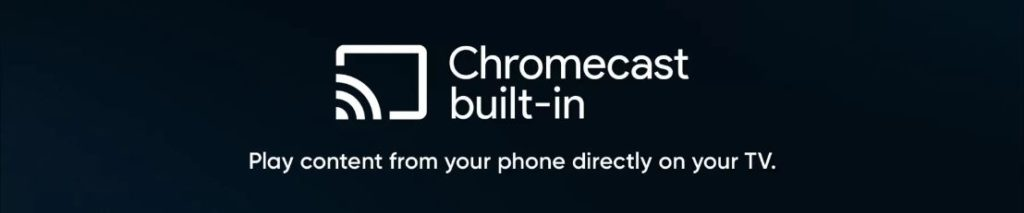 Relame Built in Chromecast