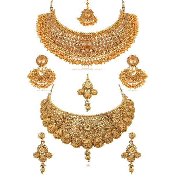 Bridal Necklace Jewellery Combo
