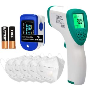 Pulse Oximeter Combo With Digital Thermometer N95 Mask