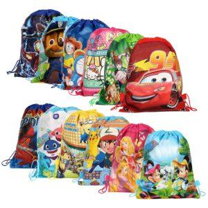 Return Gifts Set of Cartoon Printed Kids Haversack Bags