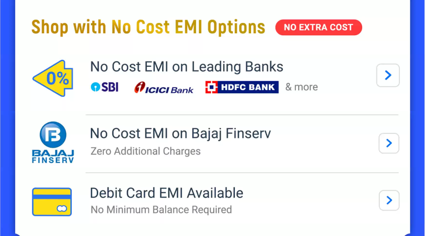 No Cost EMI on Flipkart