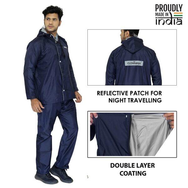 Double Layer raincoat