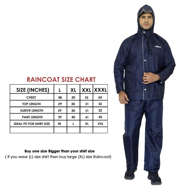 Raincoat Available in All Sizes